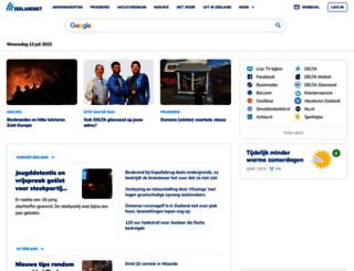 zeelandnet.nl screenshot
