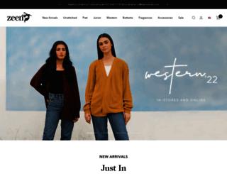 zeenwoman.com screenshot