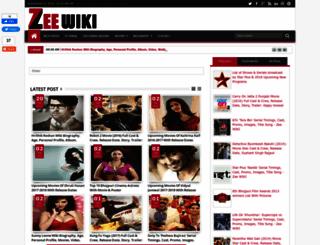 zeewiki.blogspot.com screenshot