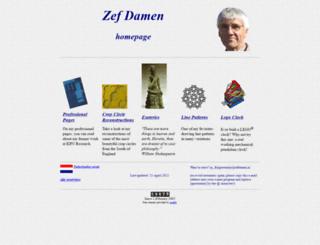 zefdamen.nl screenshot