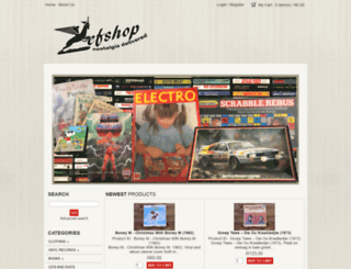 zefshop.com screenshot