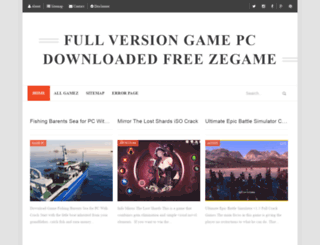 zegamepc.blogspot.com screenshot