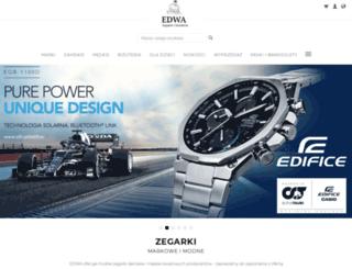 zegarki-edwa.pl screenshot