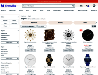 zegarki.shopalike.pl screenshot