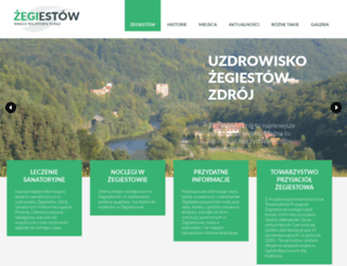 zegiestow.pl screenshot