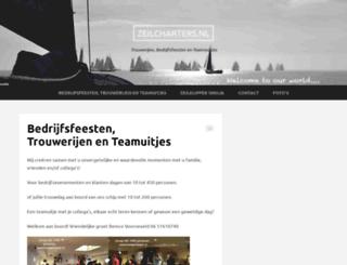 zeilcharters.nl screenshot