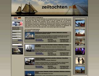 zeiltochten.nl screenshot