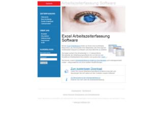 zeiterfassung.jgm-software.com screenshot