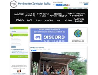zeitgeistitalia.org screenshot