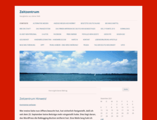 zeitzentrum.wordpress.com screenshot