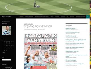 zekaialtun.wordpress.com screenshot