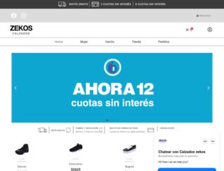 zekos.com.ar screenshot
