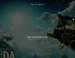 zelda.com.br screenshot