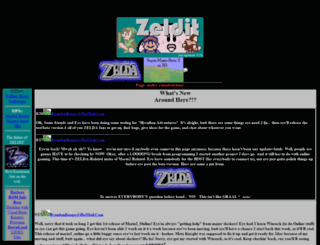 zeldit.zophar.net screenshot
