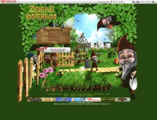 zeleneimperium.cz screenshot