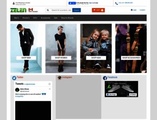 zelenshoes.com screenshot