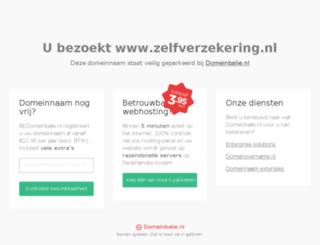 zelfverzekering.nl screenshot