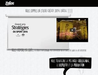 zelios-interactive.com screenshot