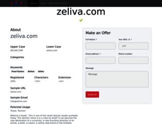 zeliva.com screenshot