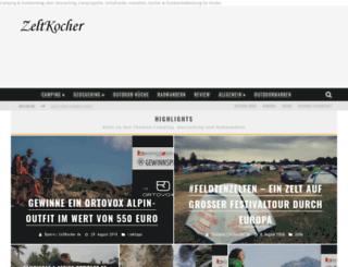 zeltkocher.de screenshot