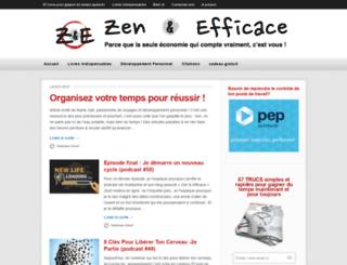 zen-et-efficace.com screenshot