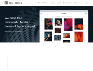 zen-themes.com screenshot