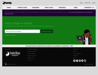 zen.coderdojo.com screenshot