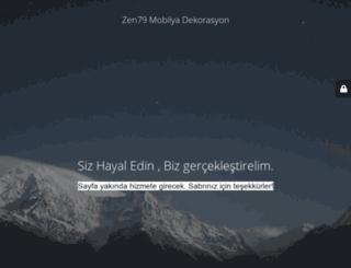 zen79mobilyadekorasyon.com screenshot