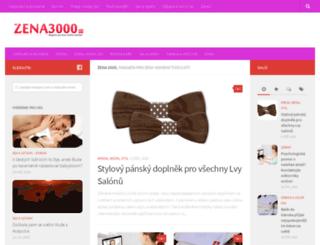 zena3000.cz screenshot