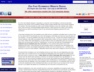 zencart-ecommerce-website-design.com screenshot