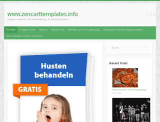 zencarttemplates.info screenshot