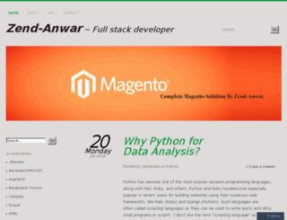zendanwar.wordpress.com screenshot