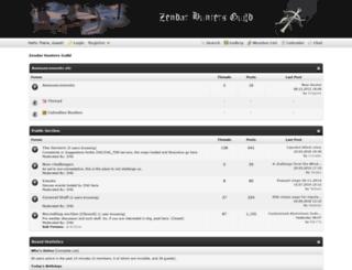 zendarhunters.tk screenshot