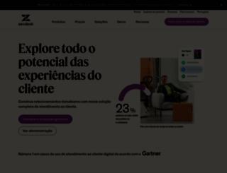 zendesk.com.br screenshot