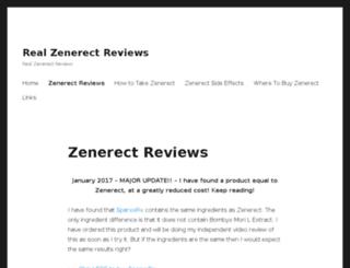 zenerectreviews.com screenshot