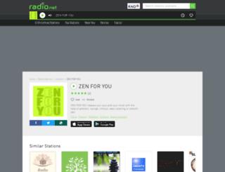 zenforyou.radio.net screenshot