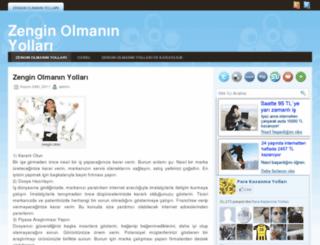 zenginolmaninyollari.net screenshot