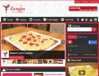 zenginyemektarifleri.com screenshot