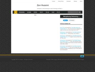 zenhuzaini.blogspot.com screenshot