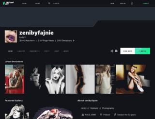zenibyfajnie.deviantart.com screenshot