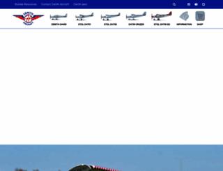 zenithair.com screenshot