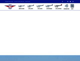 zenithair.net screenshot