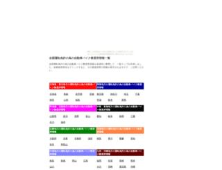 zenkokuzidousya.nomaki.jp screenshot