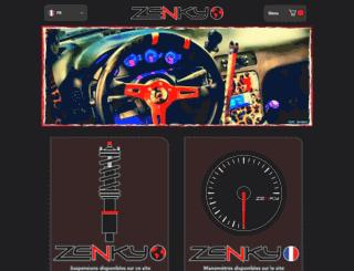zenky-racing.com screenshot