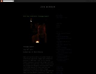zenmirror.blogspot.com screenshot