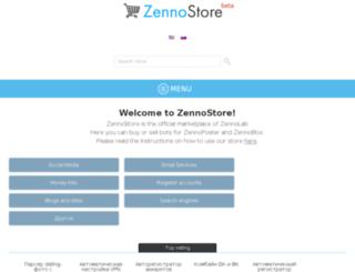 zenno.market screenshot
