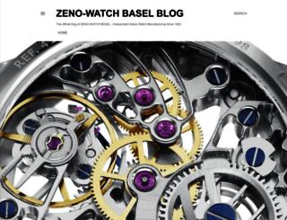 zeno-watch-basel.blogspot.ch screenshot