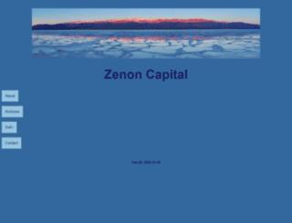 zenoncapital.com screenshot