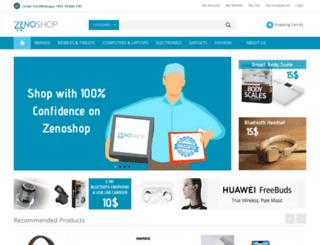 zenoshop.com screenshot