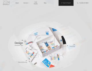 zenpackcorp.com screenshot
